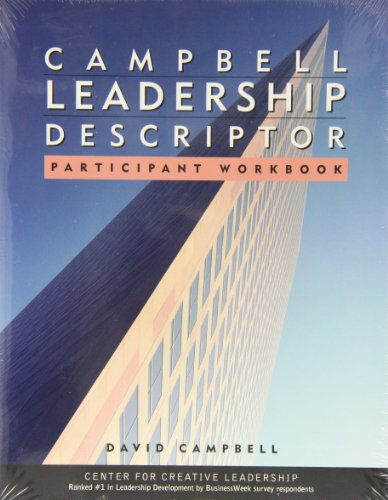 Campbell Leadership Descriptor Participant's Package - David P. Campbell