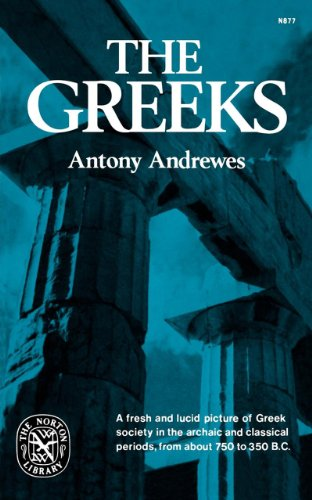 The Greeks (Norton Library) - Antony Andrewes