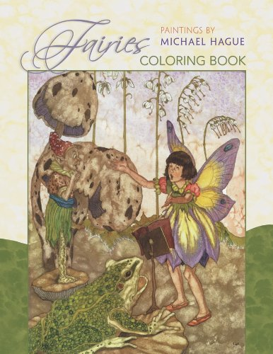 Fairies: Paintings by Michael Hague Coloring Book - Pomegranate; Michael Hague