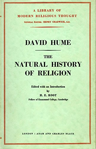 The Natural History of Religion (Library of Modern Religious Thought) - David Hume