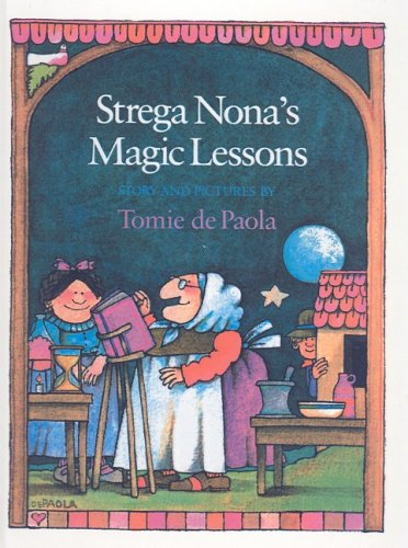 Strega Nona's Magic Lessons - Tomie dePaola