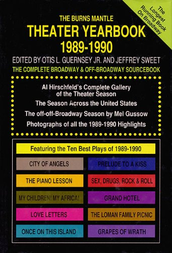 Theater Yearbook 1989-1990: The Complete Broadway and Off-Broadway Sourcebook - Hal Leonard Corp.