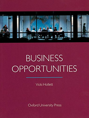 Business Opportunities: Student's Book - Vicki Hollett