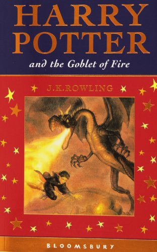 Harry Potter 4 and the Goblet of Fire. Celebratory Edition - J. K. Rowling