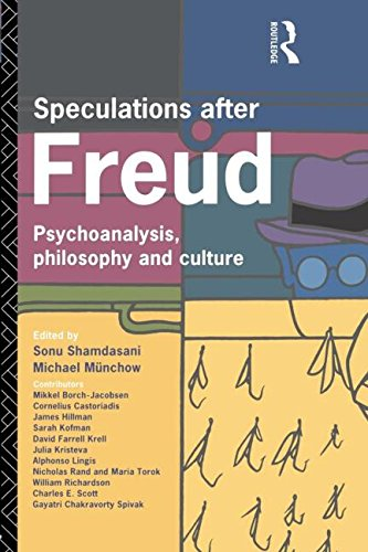 Speculations After Freud: Psychoanalysis, Philosophy and Culture - Michael Munchow; Sonu Shamdasani