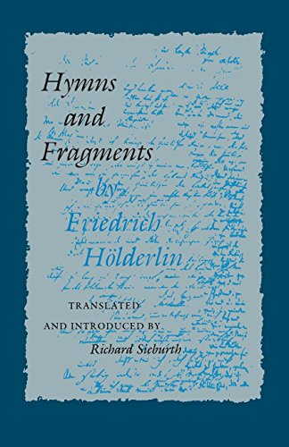 Hymns and Fragments: (Lockert Library of Poetry in Translation) - Friedrich H?lderlin