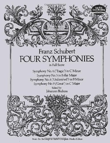 Four Symphonies in Full Score (Dover Music Scores) - Franz Schubert; Music Scores
