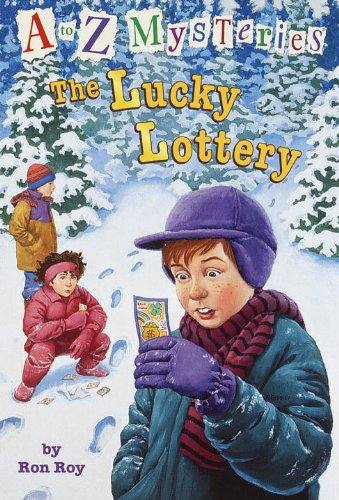 The Lucky Lottery (Turtleback School  &  Library Binding Edition) (A to Z Mysteries) - Ron Roy