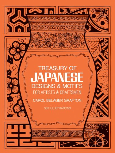 Treasury of Japanese Designs and Motifs for Artists and Craftsmen (Dover Pictorial Archive) - Carol Belanger Grafton