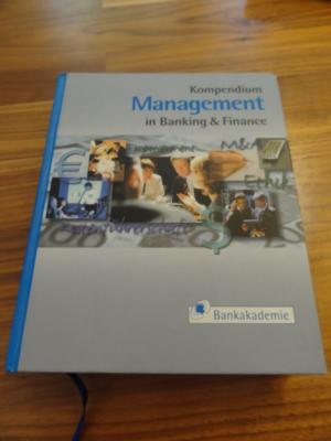 Kompendium Management in Banking & Finance - Steffens, Udo Gerhard, Markus