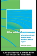 Diffuse Pollution of Water Resources: Principles and Case Studies in the Southern African Region - Hranova, Roumiana