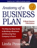 Anatomy of a Business Plan - Pinson, Linda