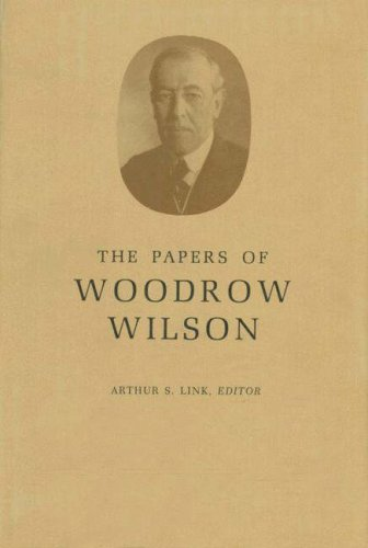 The Papers of Woodrow Wilson. Volume 45. November 11, 1917-January 15, 1918 - Wilson, Woodrow