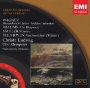 Wesendonck-Lieder/Alt-Rhaps. - Ludwig, C. /Klemperer. O/POL