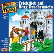TKKG 059. Trickdieb auf Burg Drachenstein. CD - Wolf, Stefan