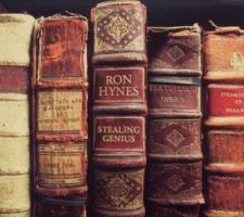 Stealing genius - Hynes, Ron