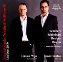 Internationaler Schubert-Wettbewerb Liedduo 2009 - Tomasz Wija, David Santos