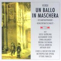 Un Ballo In Maschera (GA) - Chor & Orch. Der Metropolitan Opera