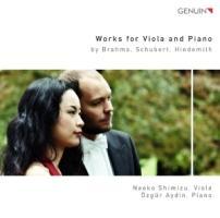 Works for Viola and Piano - Shimizu/Aydin