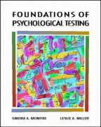 Foundations of Psychological Testing - McIntire, Sandra A.; Miller, Leslie