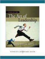 The Art of Leadership - Manning, George
