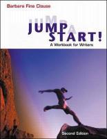 Jumpstart! a Workbook for Writers - Clouse, Barbara Fine; Clouse Barbara, Fine