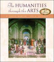 Humanities Through the Arts - Jacobus, Lee A.; Martin, F. David; Martin F. , David