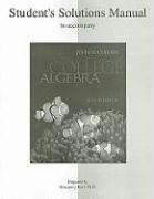 Student Solutions Manual to Accompany College Algebra - Coburn, John W.; Karr, Rosemary M.