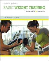 Basic Weight Training for Men and Women - Fahey, Thomas D.