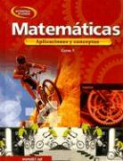 Matematicas Curso 1: Aplicaciones y Conceptos