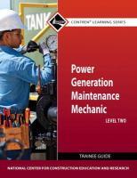 Power Gen Maint Mech Lev 2 Tg - National Center for Construction Educati