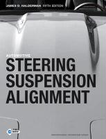 Automotive Steering, Suspension and Alignment - Halderman, James D.