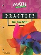 Math Advantage on My Own Practice Workbook, Grade K