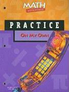 Math Advantage on My Own Practice Workbook, Grade 8
