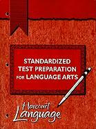 Standardized Test Preparation for Language Arts, Grade 3