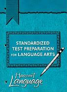Standardized Test Preparation for Language Arts, Grade 4