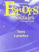 Estudios Sociales: Tarea y Practica, Grado 1: Con Los Ojos de Un Nino