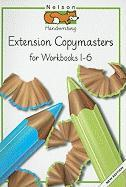 Nelson Handwriting: Extension Copymasters for Workbooks 1-6