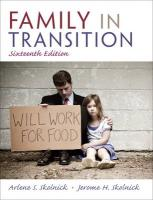 Family in Transition - Skolnick, Arlene S.; Skolnick, Jerome H.