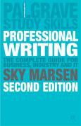 Professional Writing - Marsen, Sky
