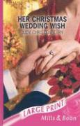 Her Christmas Wedding Wish - Christenberry, Judy