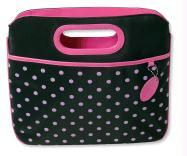 Pink Polka-Dot Carrier with Clutch Handles - Zondervan Publishing