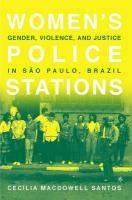 Women's Police Stations - Santos, Cecilia Macdowell