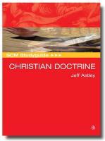 Scm Studyguide: Christian Doctrine - Astley, Jeff
