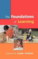 Foundations of Learning - Fisher, Julie; Fisher