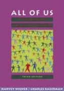 All of Us: A Multicultural Reading Skills Handbook - Wiener, Harvey S.; Bazerman, Charles