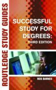 Successful Study for Degrees - Barnes, Rob
