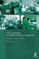 The Japanese Pharmaceutical Industry - Umemura, Maki