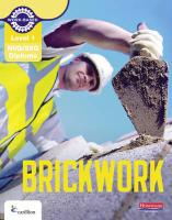 Level 1 NVQ/SVQ Diploma Brickwork Candidate Handbook