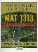 College Algebra: Mat 1313 - Young, Cynthia Y.